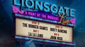 Lionsgate Live! A Night at the Movies