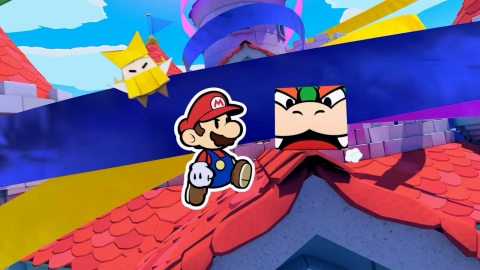 Along the way, you'll enlist the help of characters old and new, such as King Olly's good-natured sister, Olivia, along with a range of unlikely allies, including Bowser himself! (