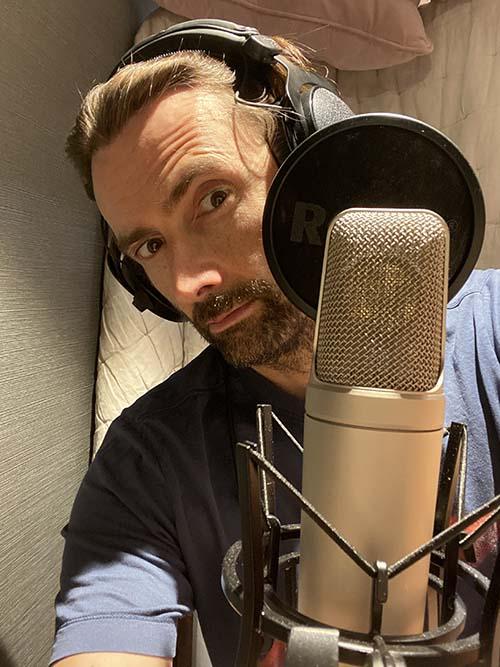 David Tennant home recording