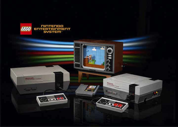 LEGO classic NES Building Kit