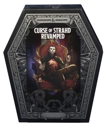 Curse of Strahd Revamped
