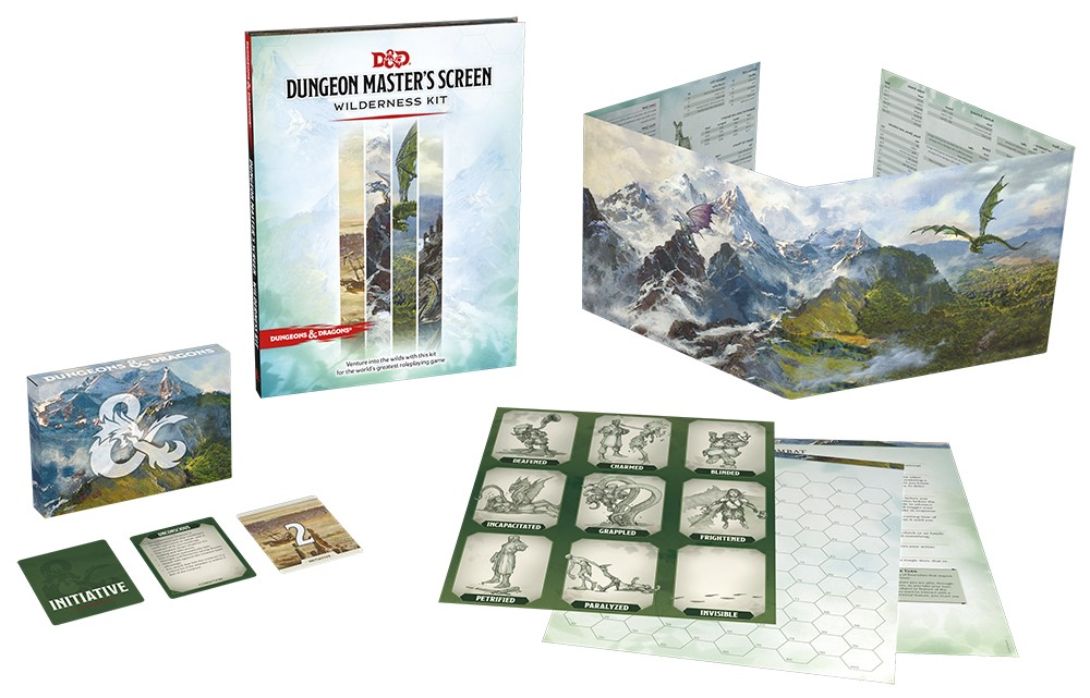 New Dungeon Master's Screen Wilderness Kit takes D&D adventures off the beaten path