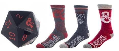 D&D Sock Dice Gift Set