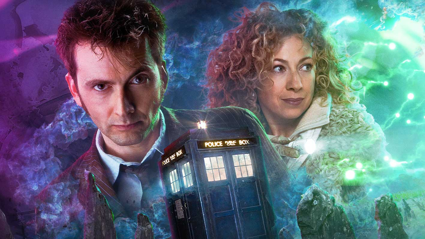 Tenth Doctor and River Song reunite for timey-wimey audio adventures