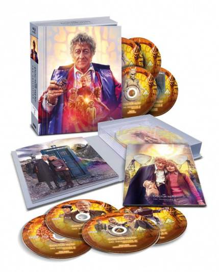 Classic Who Blu-ray Doctor Who The Collection - Season 8