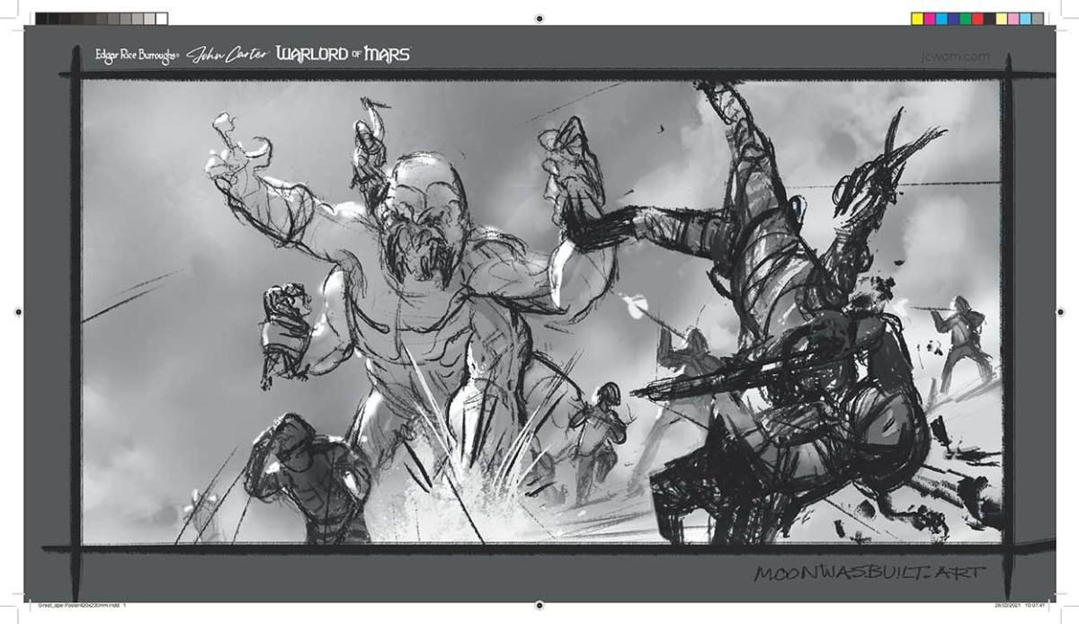John Carter: Warlord of Mars video game