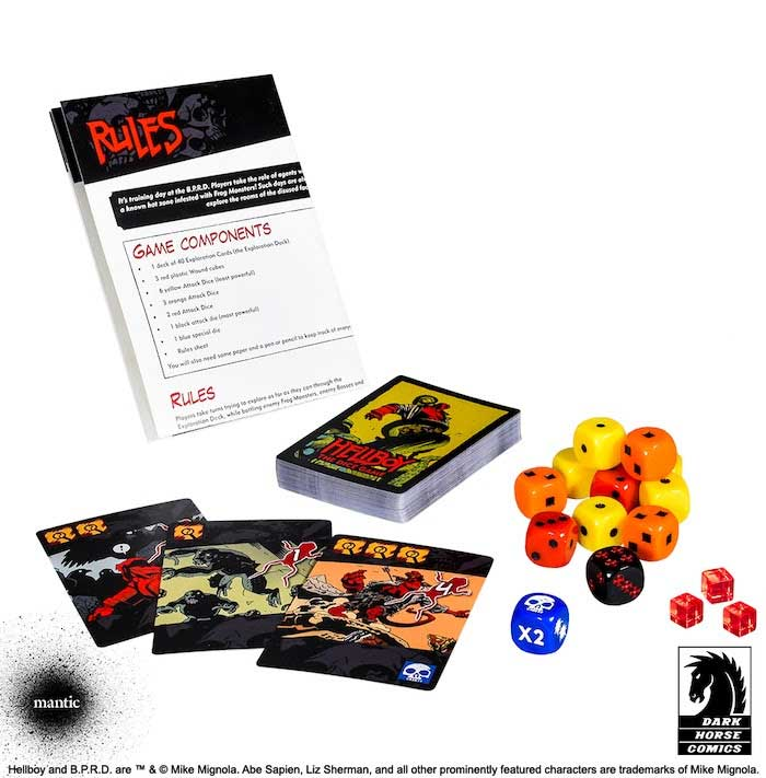 Hellboy: The Board Game Returns to Kickstarter