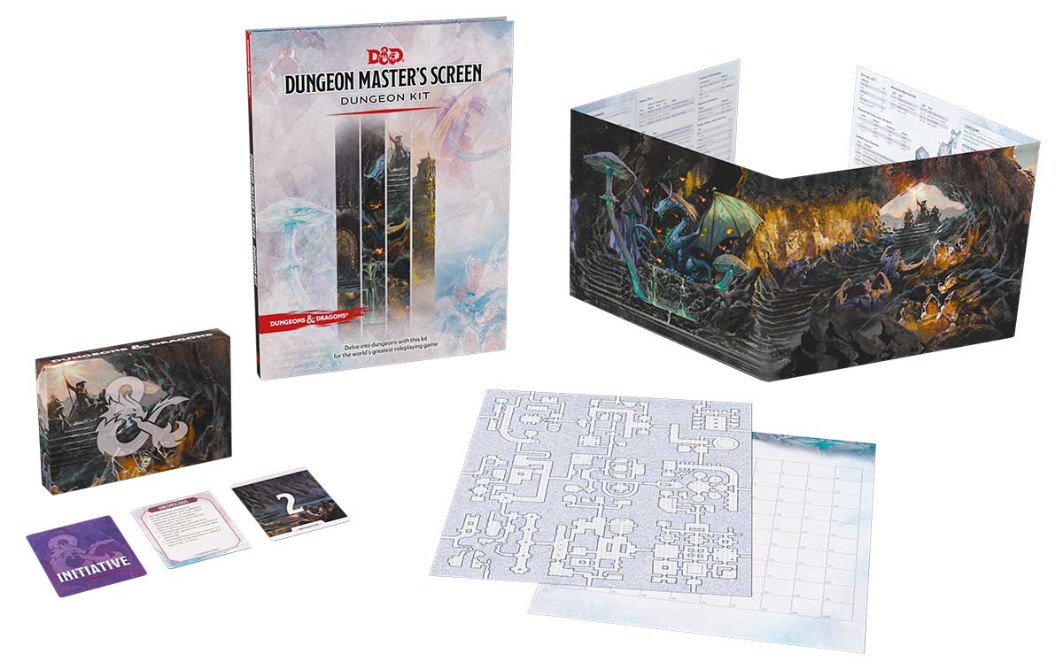 Dungeon Master's Screen: Dungeon Kit
