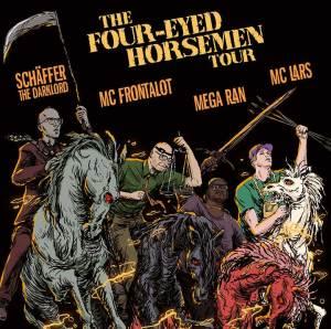The Four-Eyed Horsemen Tour: MC Lars with MC Frontalot, Schaffer the Darklord and Mega Ran