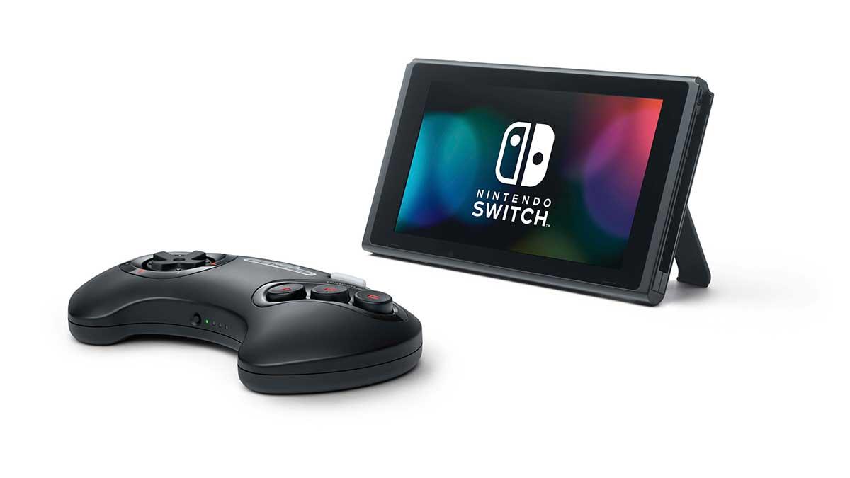 Nintendo Switch Online + Expansion Pack SEGA Genesis wireless controller