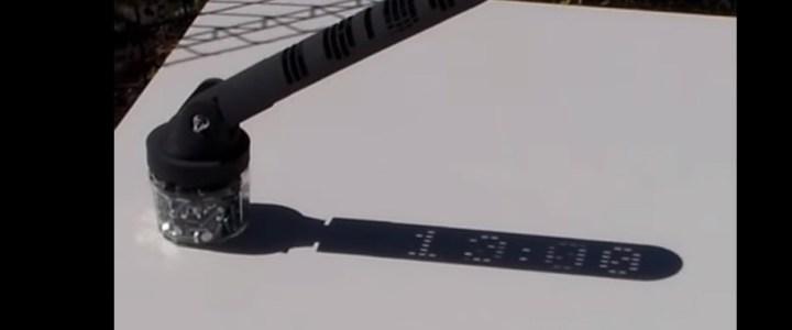 Die digitale Sonnenuhr