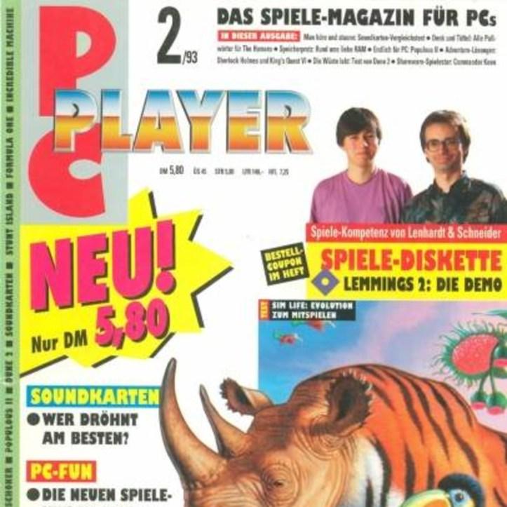 Folge 104: Durchgeblättert: PC Player 2/93 (mit Heinrich Lenhardt)