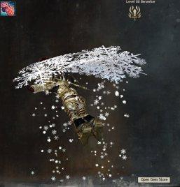 Snowflake Glider Guild Wars 2