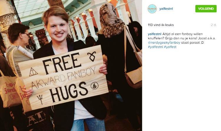 Yalfest hugs
