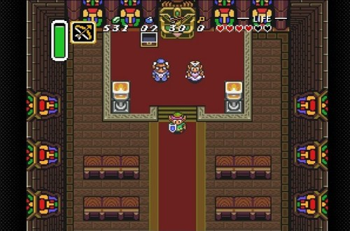Zelda A Link to the Past Kathedrale Lieblingsort in Videospielen