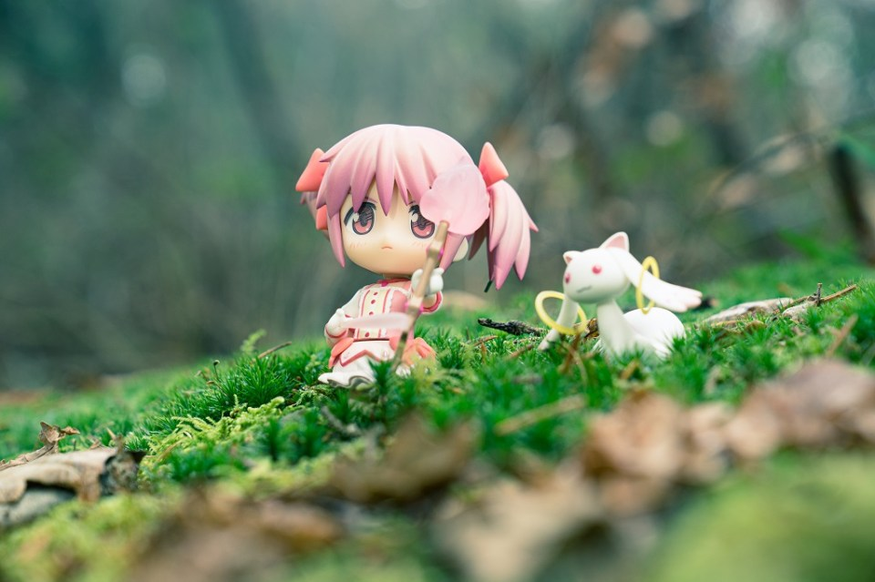 Nendoroid 174 Puella Magi Madoka Magica Wald Moos