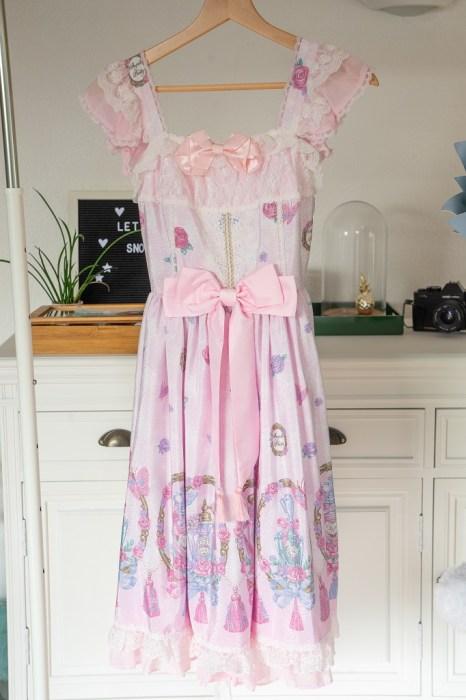Angelic Pretty Romantic Perfume Jumperskirt Lolita Mode Kleid
