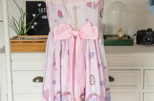 Angelic Pretty Romantic Perfume Jumperskirt Lolita Mode Kleid