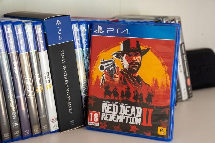 Gibt es zu viele gute Spiele Red Dead Redemption 2