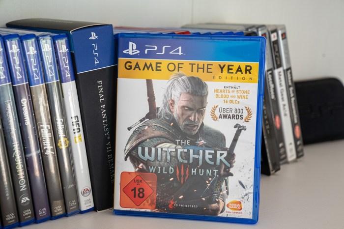 Gibt es zu viele gute Spiele Witcher 3