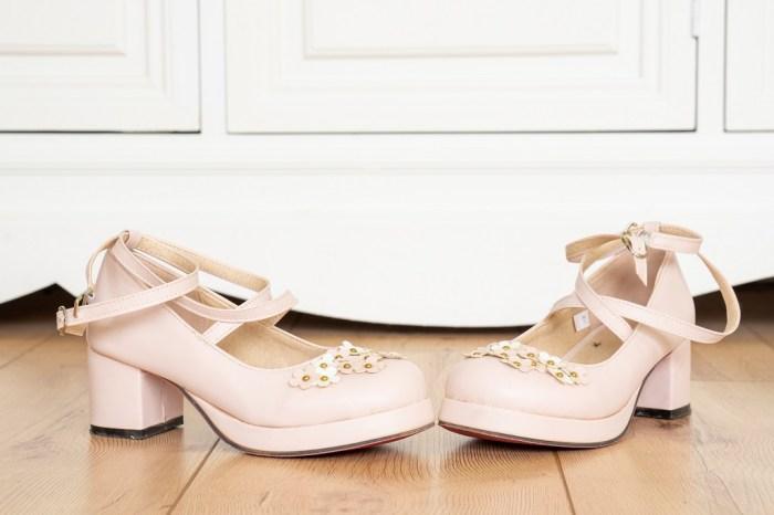 Lolita Schuh Rosa Untergrösse
