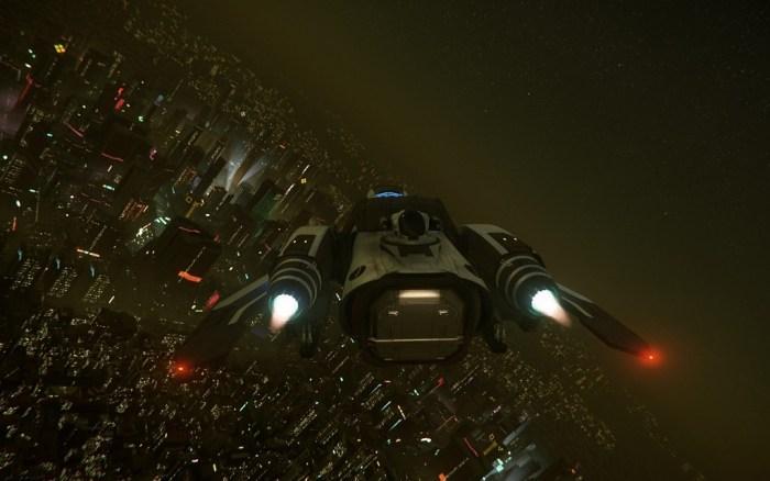 Star Citizen RCorp Abflug