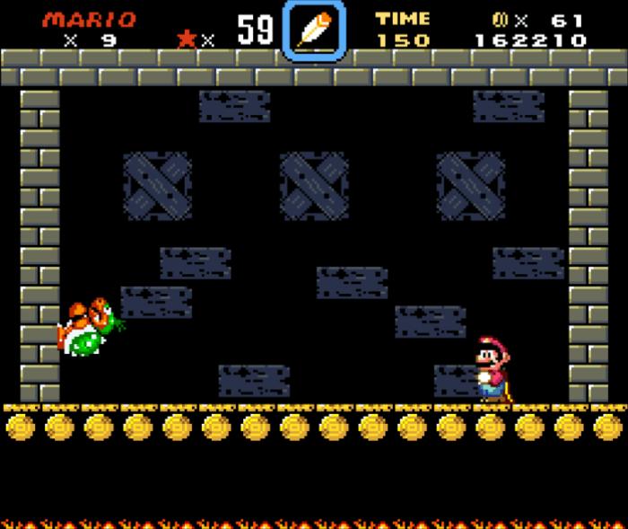Super Mario World Koopa Boss