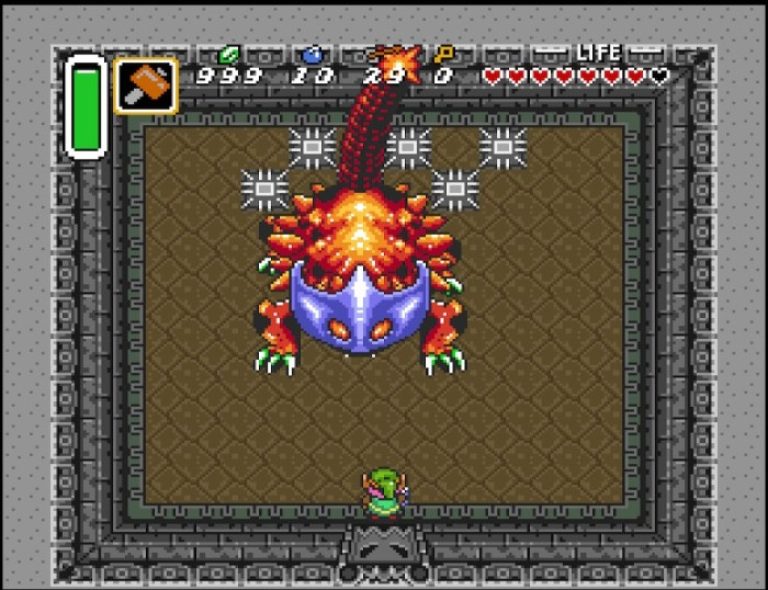 Zelda A Link to the Past Dungeon Boss 2