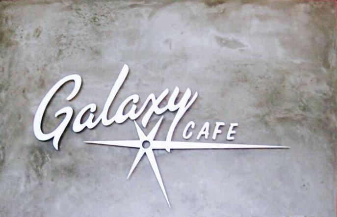 galexy cafe sign austin tx