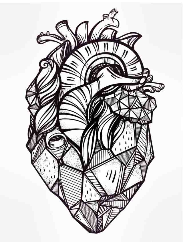 15 Free Printable Valentines Adult Coloring Pages - Nerdy Mamma