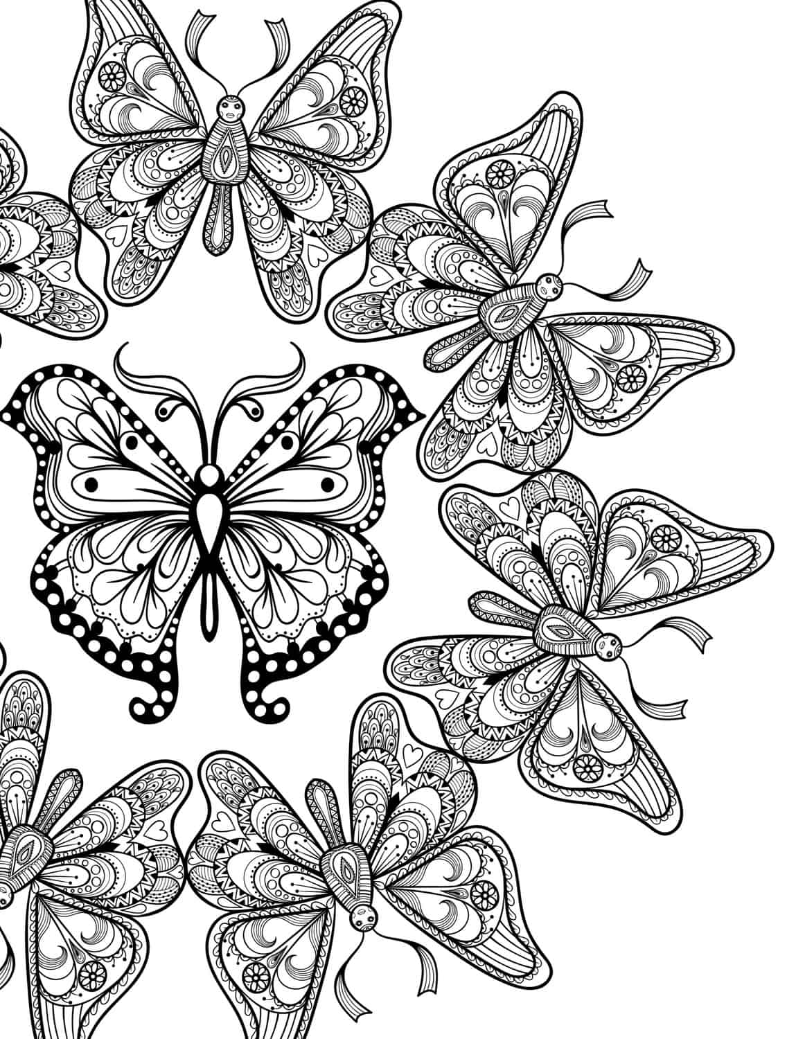 Coloring Pages Insects Free Coloring Pages Download | Xsibe insect ...