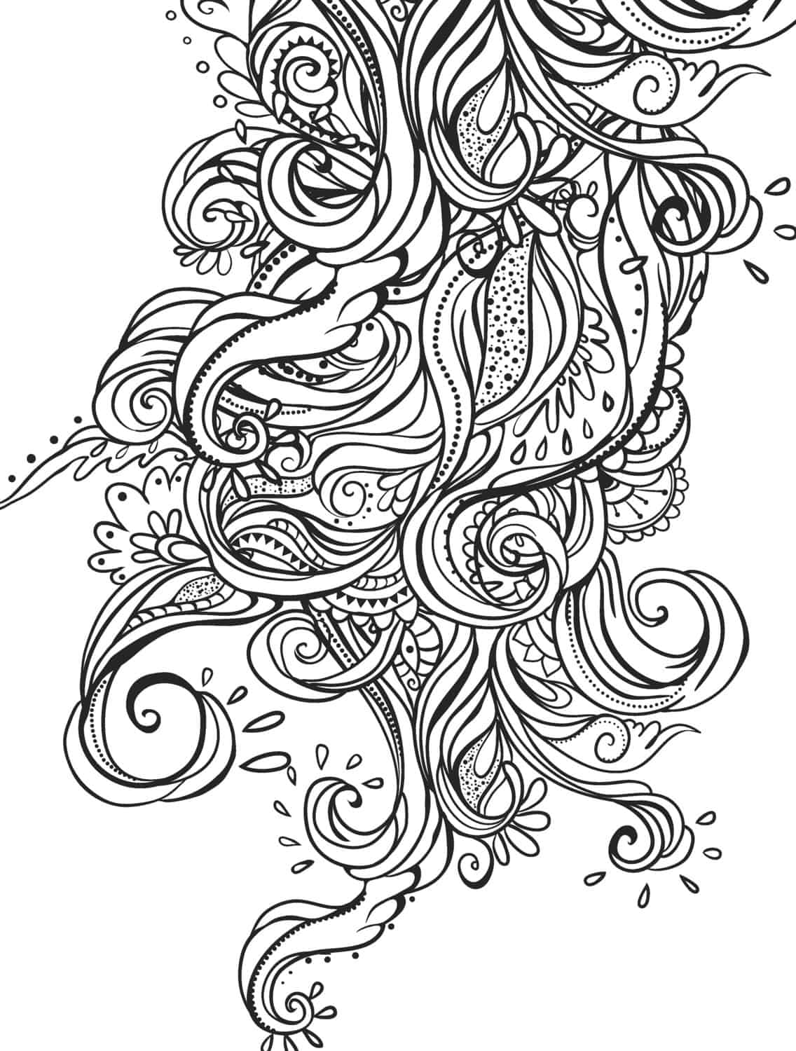 Beautiful Coloring Pages For Adults Coloring Pages
