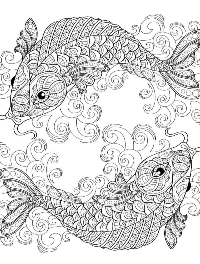 21 FREE Adult Coloring Pages To Color For Stress Relieving Self-Care – The  Gorgeous List