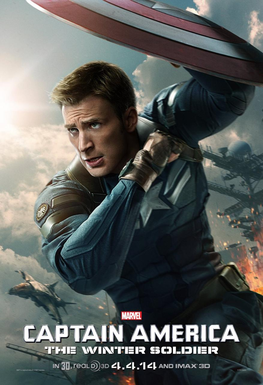 Captain America Soldat De L Hiver : captain, america, soldat, hiver, Review, CAPTAIN, AMERICA:, WINTER, SOLDIER, Nerdy, Rotten, Scoundrel