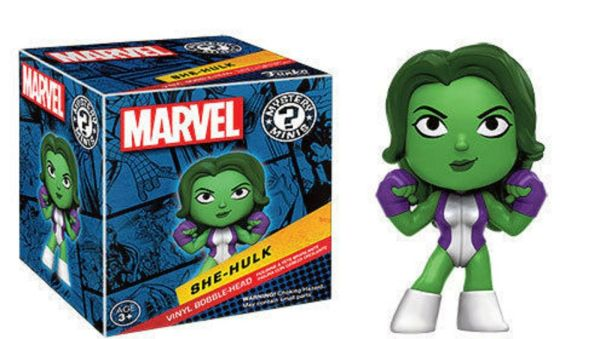 She-Hulk Mystery Minis From Marvel Collectors Corps Box Women Of Power