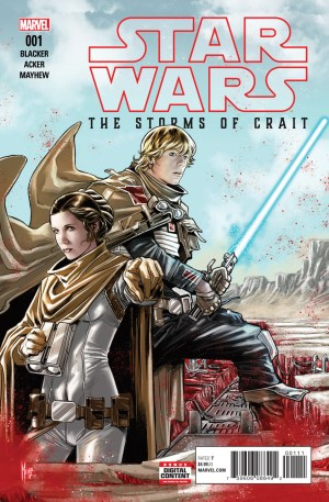 Star Wars: The Last Jedi: The Storms Of Crait #01 NM Bagged & Boarded