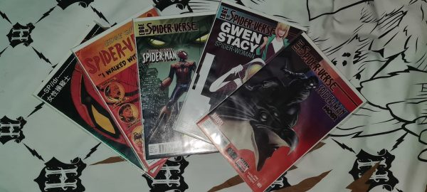 Edge Of Spider-Verse (2014) 1 2 3 4 5 First Edition NM Bagged Boarded