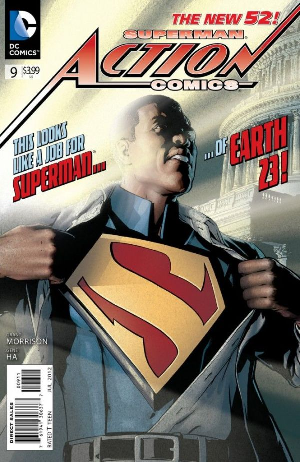 Superman Action Comics (2012) #09 Bagged & Boarded NM 1st Edition SUPERDOOM