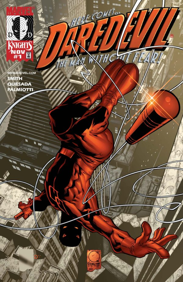 Marvel Knights – Daredevil (Vol. 2 – 1998) #01 NM VF Bagged & Boarded
