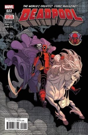 Deadpool (2017) #22 First Edition Bagged & Boarded NM