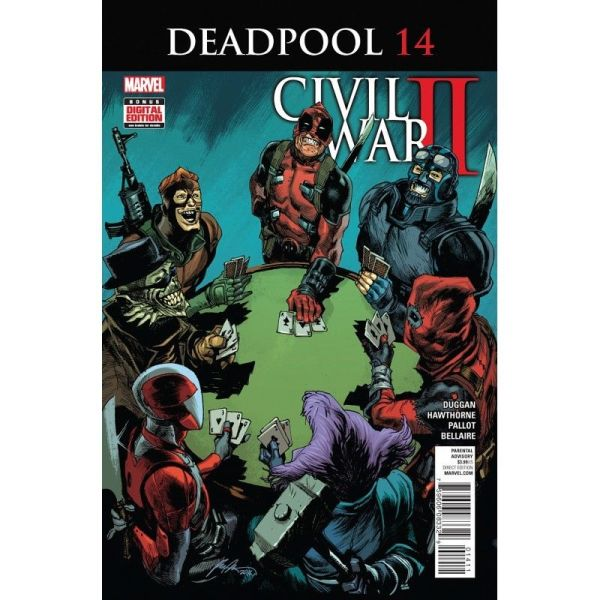 Deadpool (2016) #14 First Edition Bagged & Boarded NM