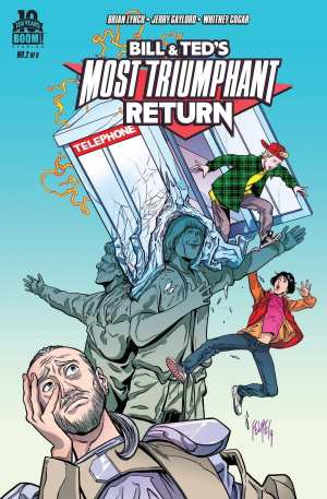 Bill & Ted's Most Triumphant Return #1-4 Inc Variant Bagged & Boarded NM VF