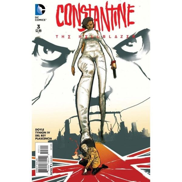 Constantine: The Hellblazer 3 Bagged & Boarded NM 1st Edition