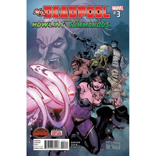 Mrs. Deadpool and The Howling Commandos #03 First Edition Bagged & Boarded NM