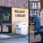Walnut library banner