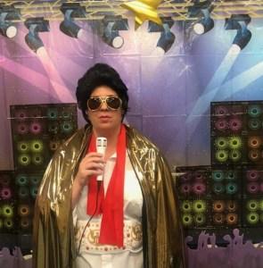 Karaoke with Elvis: George E Allen Library