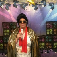 Karaoke with Elvis: George E Allen Library