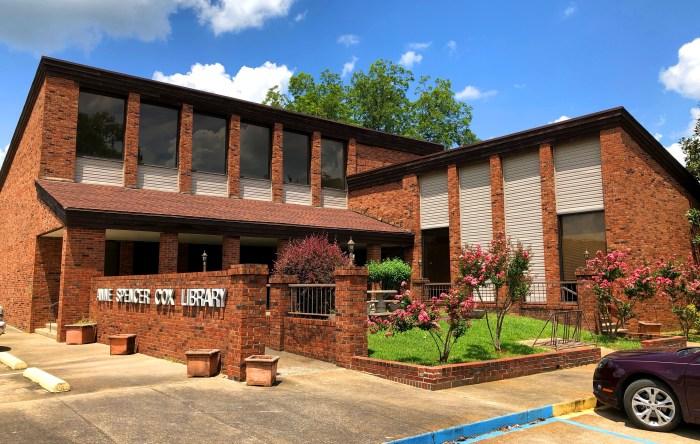 Anne Spencer Cox Library Baldwyn Mississippi