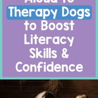 Children Read Aloud to Therapy Dogs to Boost Literacy Skills & Confidence