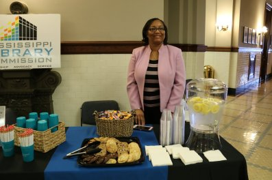 MLC had snacks at Library Advocacy Day